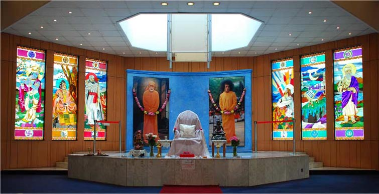 Photo of the altar at the Nairobi Centre