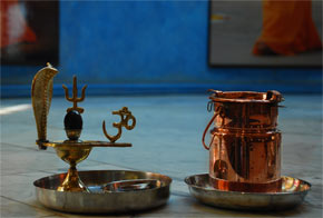 Lingam that was materialised by Swami