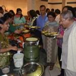 Mahaprasad after the Talk