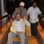 Prof Anil Kumar Entering the Centre