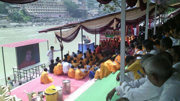 Day One - Sri Sathya Sai Ghat Inauguration in Rishikesh