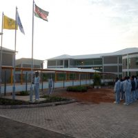 Sathya Sai Secondary School - Flag Raising